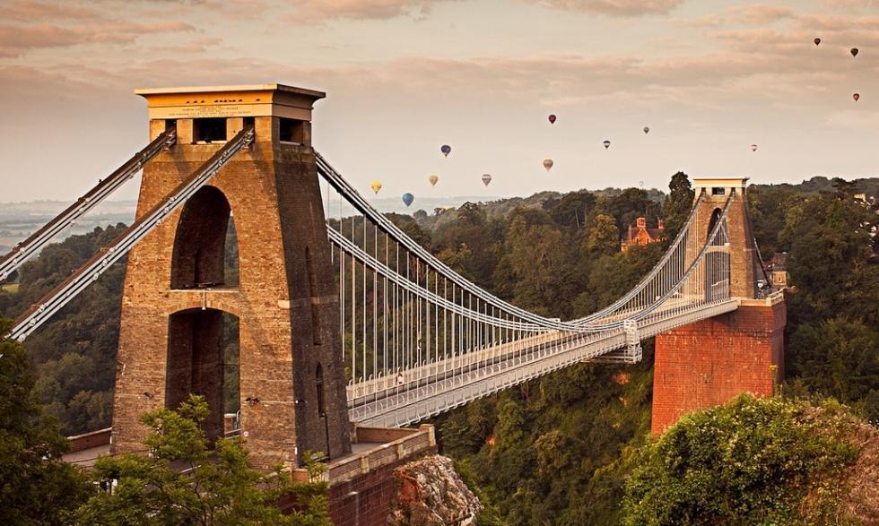 پل معلق بریستول، انگلستان