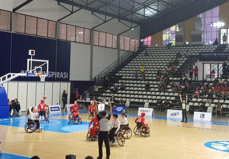 از اندونزی، شکست تیم ملی بسکتبال با ویلچر بانوان برابر چین
