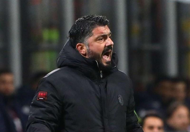 گتوسو: نتیجه و بازی را به المپیاکوس پیشکش کردیم، شایسته پیشروی بیشتر در مسابقات لیگ اروپا نبودیم