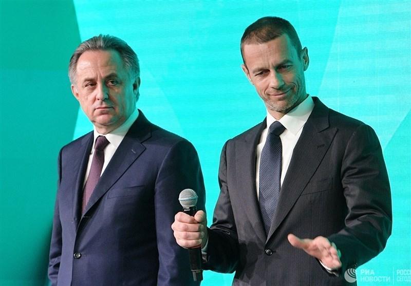 تمجید رئیس یوفا از رئیس مستعفی فدراسیون فوتبال روسیه