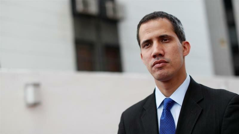 گوایدو: از گزینه نظامی علیه ونزوئلا حمایت می کنم