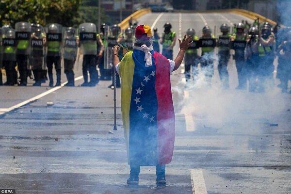 تیراندازی در تجمع هواداران شورشیان در ونزوئلا