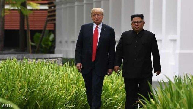 دیدار لب مرزی ترامپ با اون
