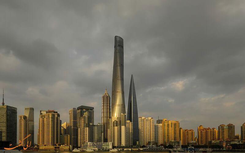 دومین آسمان خراش بلند جهان در چین بازگشایی شد