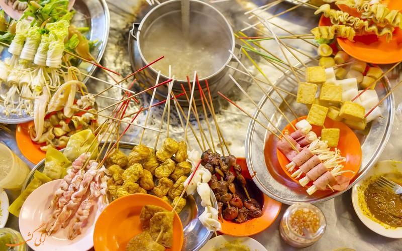 8 مورد از خوشمزه ترین غذاهای خیابانی مالزی!