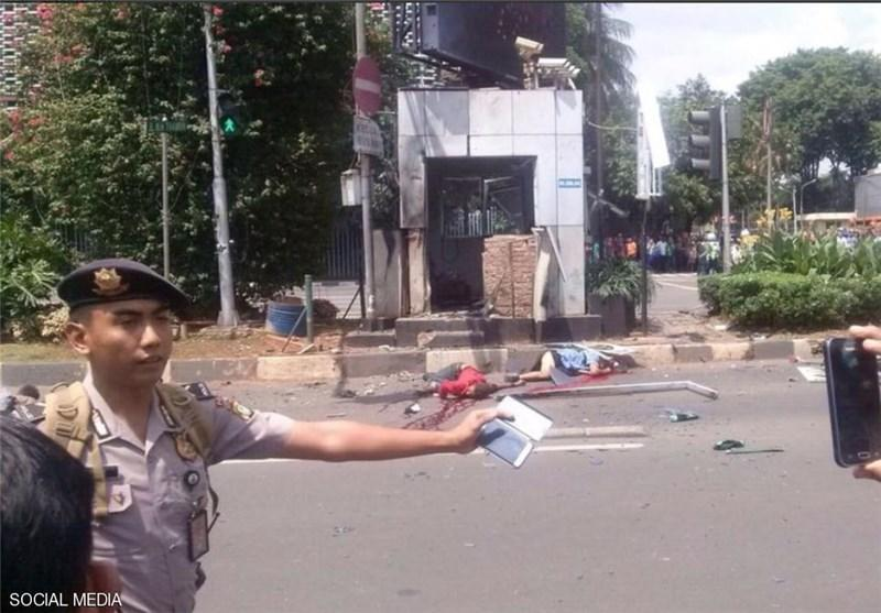 عاملان حمله به جاکارتا در یک سینما همراه با تعدادی از مردم مخفی شدند
