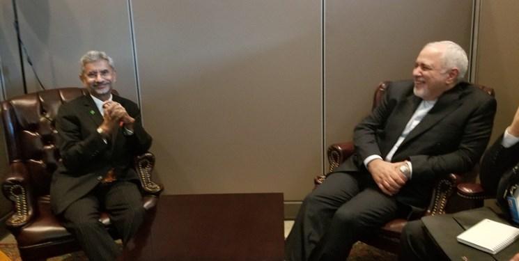 رایزنی وزرای خارجه هند و گرجستان با ظریف