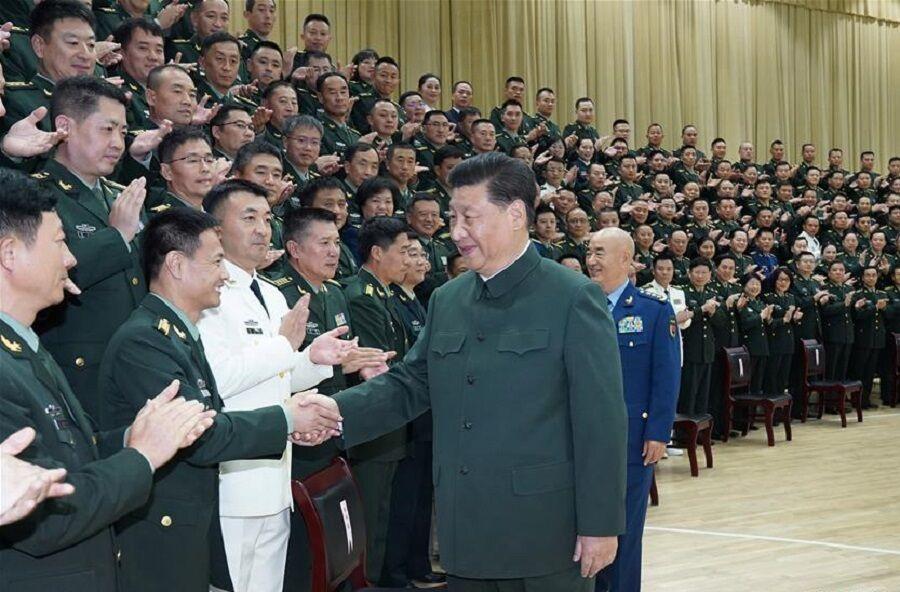 چین ارتش خود را تقویت می نماید