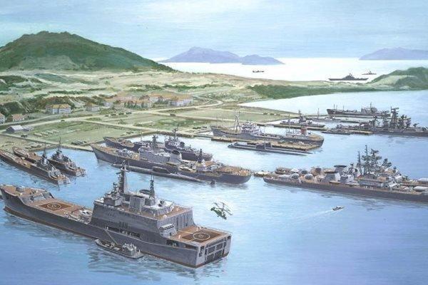 ناوگان دریایی چین میهمان خلیج کام رانه ویتنام شد