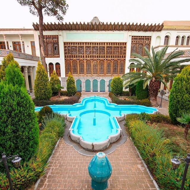 فیلم ، تصاویری متفاوت از خانه تاریخی مشیرالملک انصاری ، سرنوشت عجیب بنای صفوی