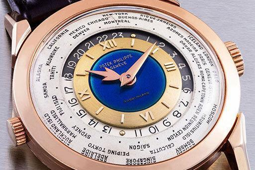 ساعت 14 میلیون دلاری در حراج کریستی ، تصاویر تعدادی از ساعت ها