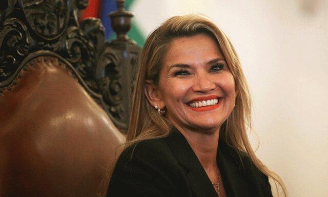 آمریکا جنین آنیز را به عنوان رئیس جمهوری موقت بولیوی به رسمیت شناخت