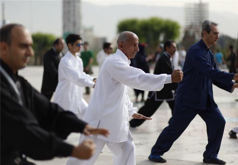 حضور تای چی در هفتمین کنگره ملى پیشگیرى و درمان چاقی ایران
