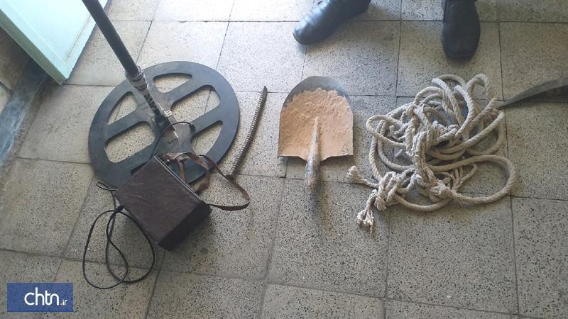 دستگیری 3 حفار غیرمجاز در اسدآباد همدان