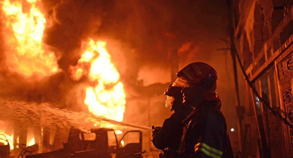 سه کارگر در حادثه آتش سوزی کارگاه ضایعاتی کهریزک جان باختند