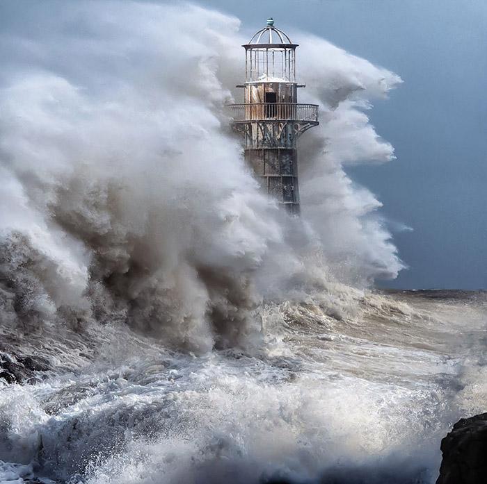 تصاویر بسیار دیدنی از فانوس های دریایی
