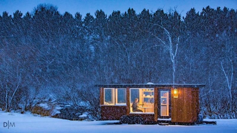 طراحی خانه ای کوچک به مساحت 15 متر مربع