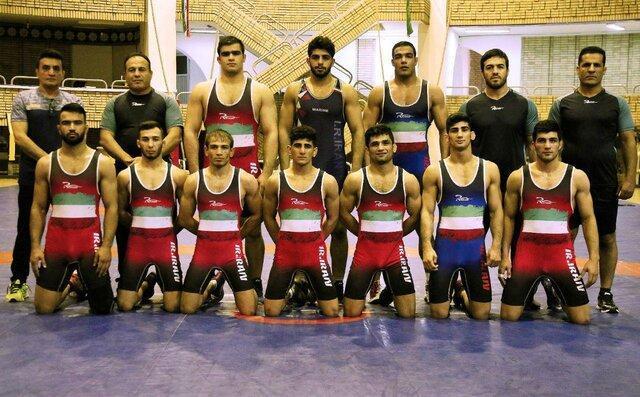 تیم ملی کشتی فرنگی ایران قهرمان آسیا شد