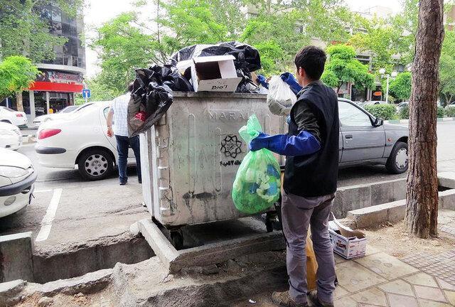 مزاحمت سطل های زباله برای شهروندان کرجی
