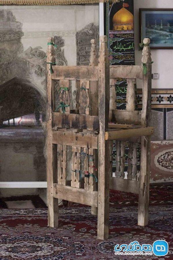 علت ثبت ملی منبر چوبی 700 ساله