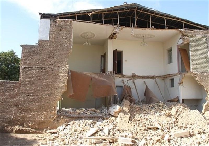 یک واحد مسکونی در سقز تخریب شد
