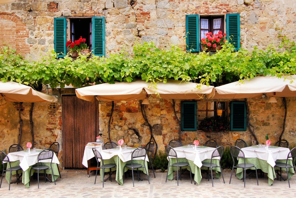 دکوراسیون داخلی رستوران ایتالیایی