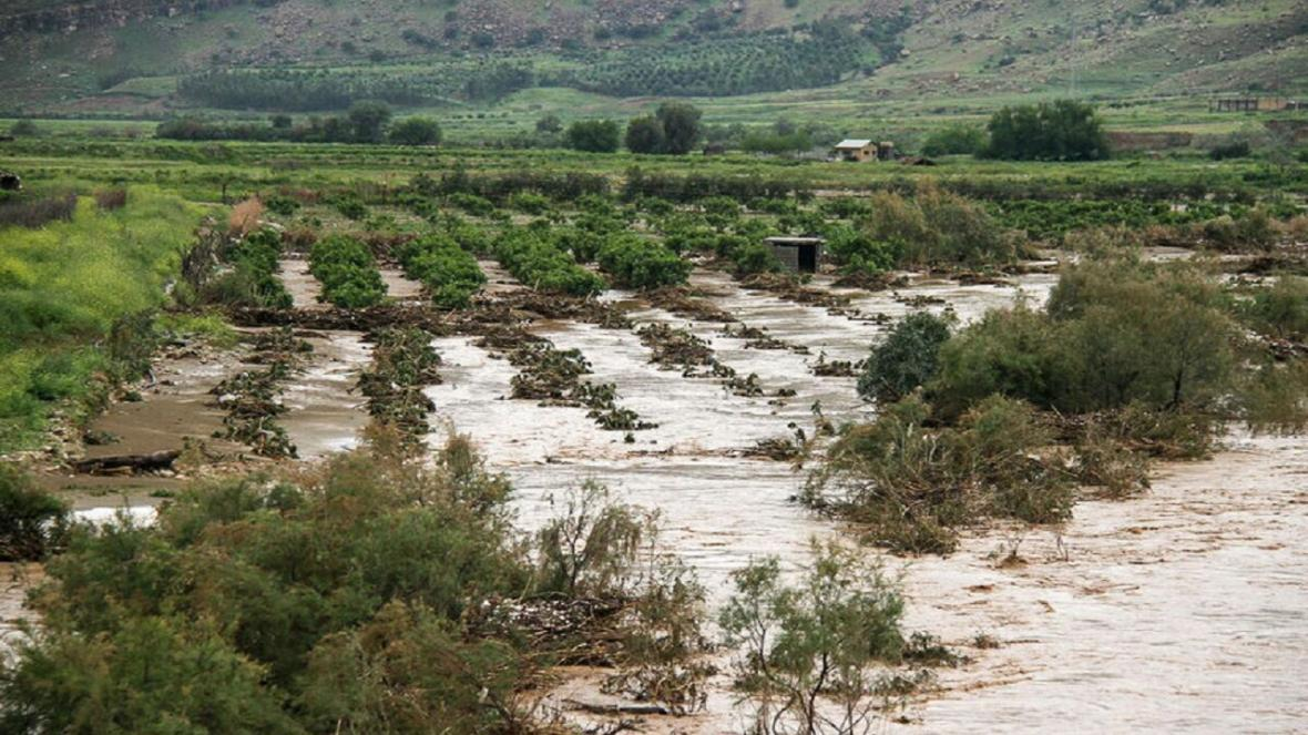 سیل 38 میلیارد ریال به کشاورزی سمنان خسارت زد
