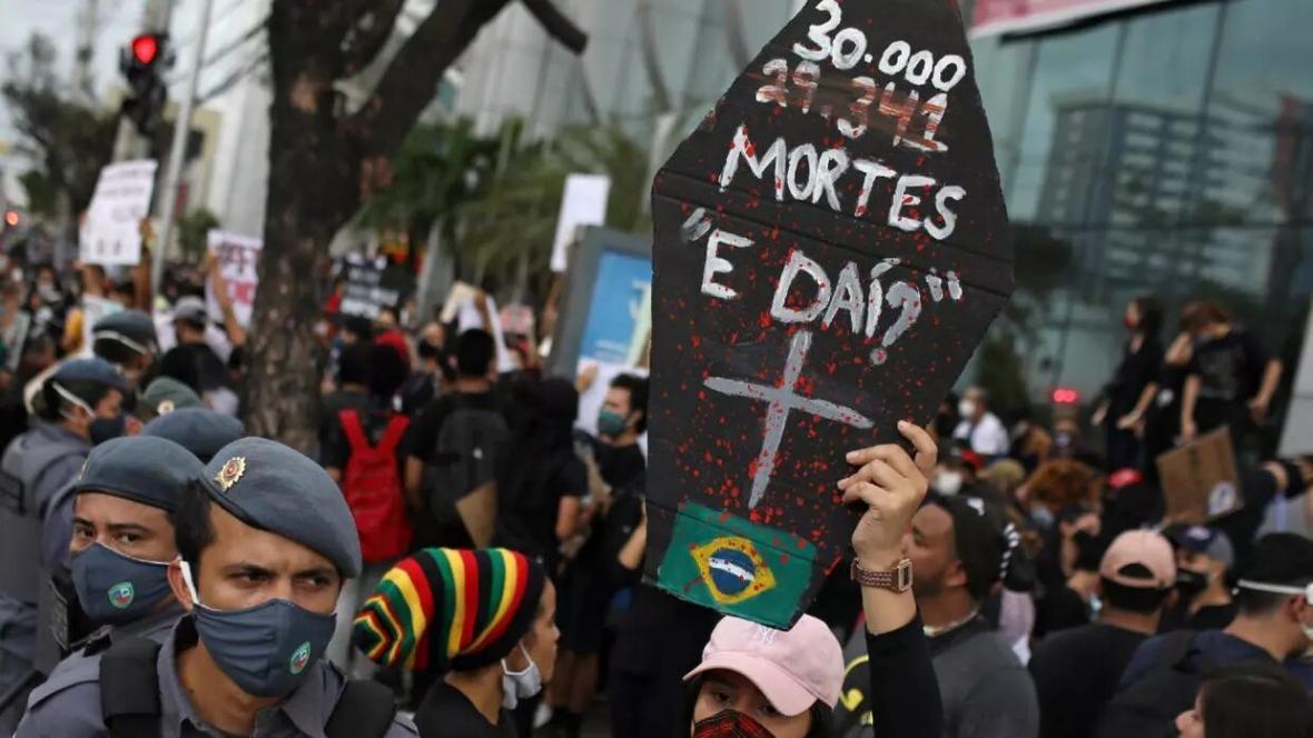 برزیل و فاجعه کرونا