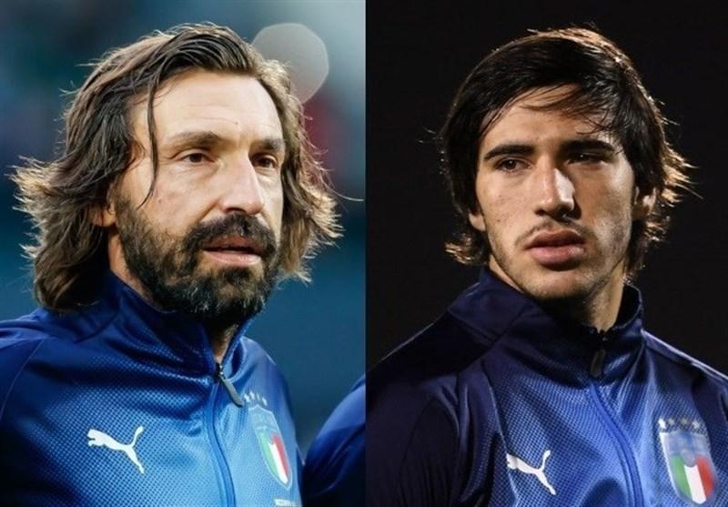 پیرلو: تونالی بازیکن کامل تری نسبت به من است، او آینده دارترین هافبک ایتالیاست
