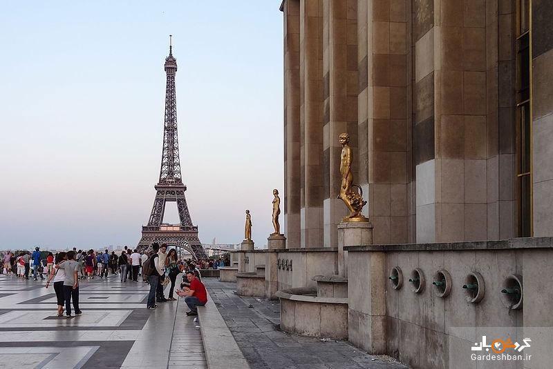 میدان تروکادرو پاریس و جاذبه های آن، تصاویر