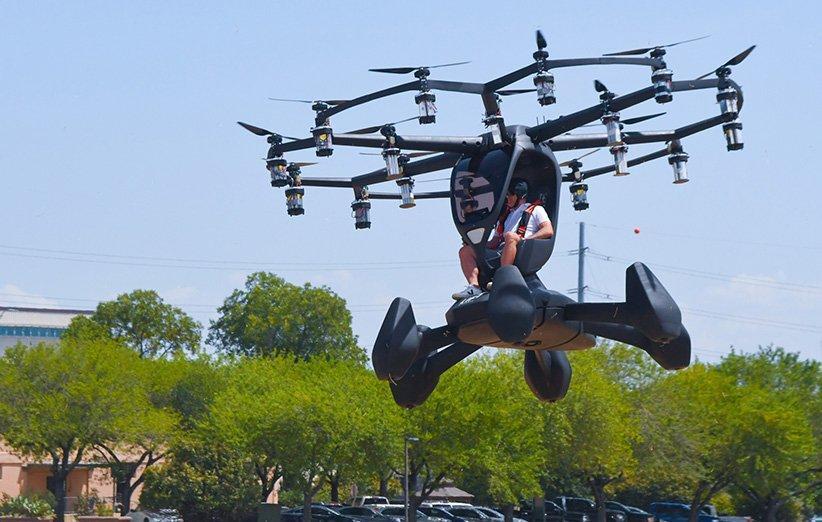 ارتش آمریکا نخستین نمونه هواگرد عمودپرواز الکتریکی را آزمایش کرد