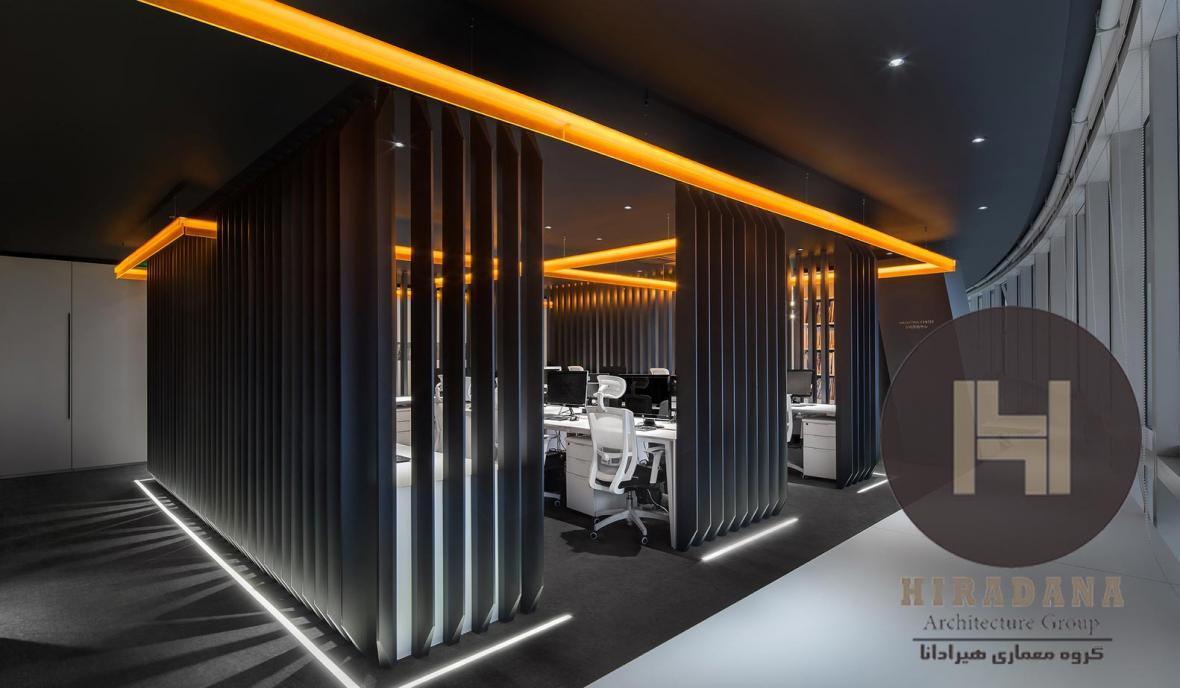 طراحی داخلی اداری مرکز تحقیق و توسعه در چین