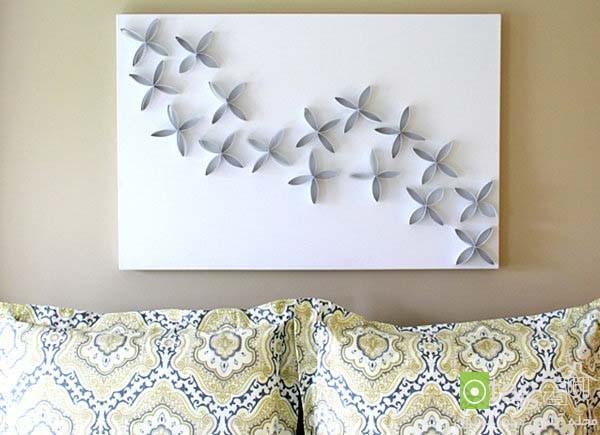 دکوری های دیواری شیک با طراحی هنری اما ساده و قیمت مناسب