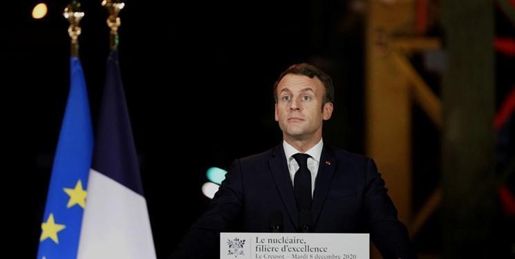 ماکرون: صنعت هسته ای اساس استقلال راهبردی فرانسه است