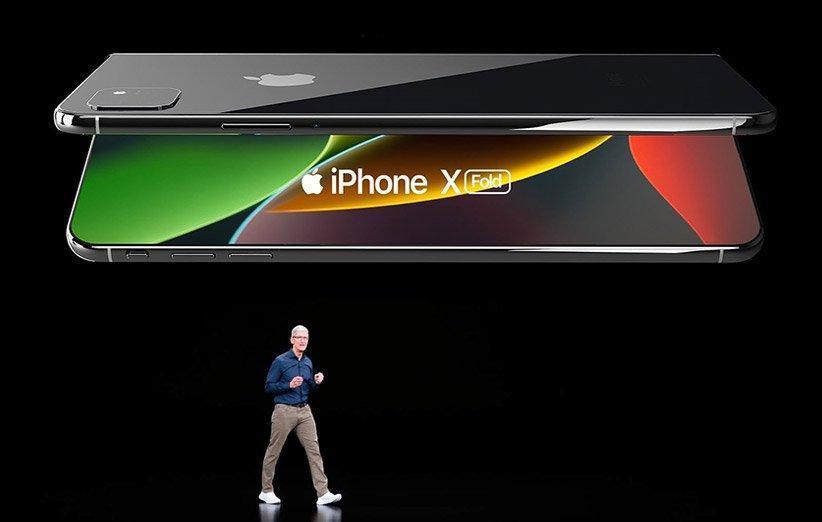 اپل دو طراحی متفاوت را برای آیفون تاشو آزمایش می نماید