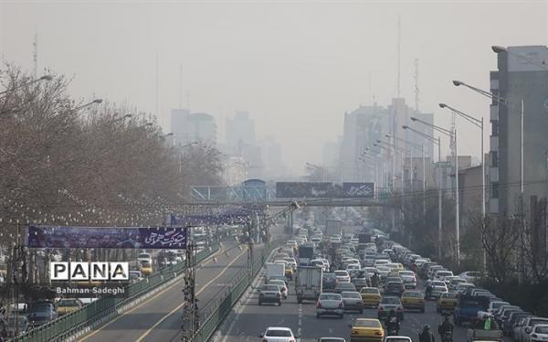 کیفیت هوای تهران ناسالم شد