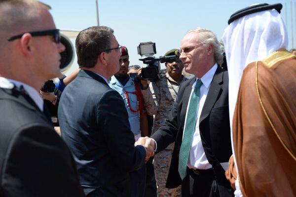 خبرنگاران سفر نماینده آمریکا در امور یمن به کشورهای حاشیه خلیج فارس