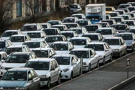 هفت جاده مسدود است ، ثبت بیشترین تردد جاده ای بین ساعات 19 تا 20