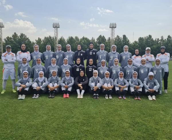دانشجوی دانشگاه ایلام به اردوی تیم ملی فوتبال بزرگسالان بانوان کشور دعوت شد