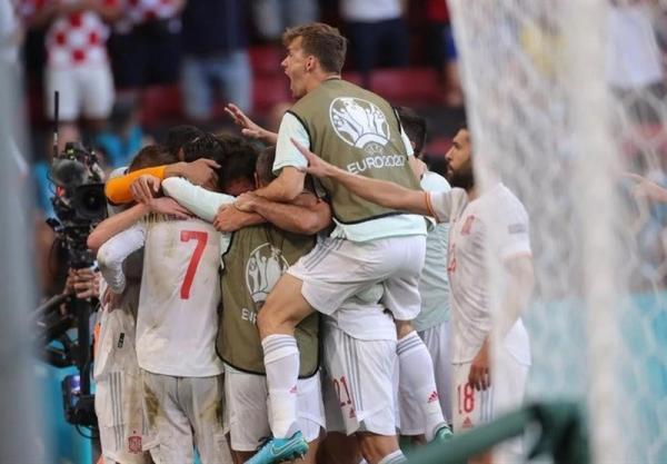 یورو 2020، صعود دراماتیک اسپانیا با شکست کرواسی در پرگل ترین بازی جام